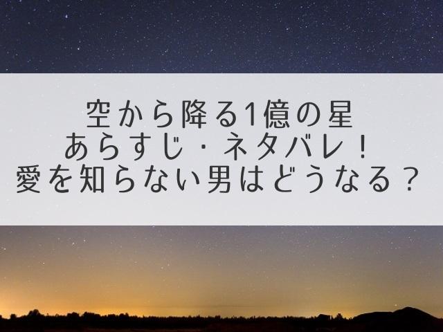 空から降る一億の星あらすじネタバレ