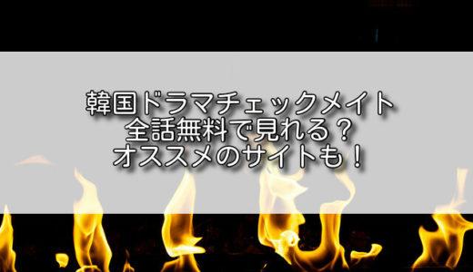 チェックメイト韓国ドラマ動画を日本語字幕で無料視聴!2話以降もタダで見れる?